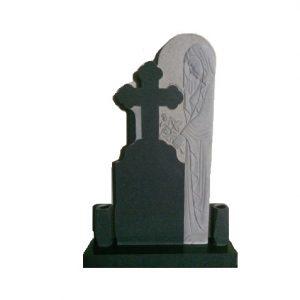 monumente funerare granit negru cruci