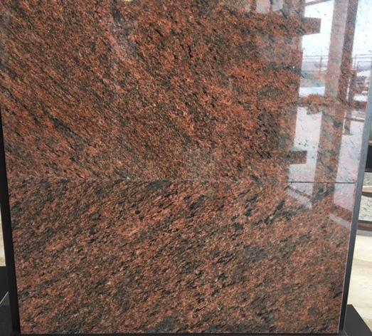 Placaj Granit Rosu Multicolor Lustruit 61x30 5x1 Cm
