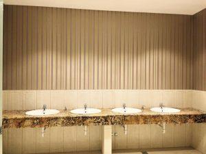 portofoliu marmur art blat travertin chiuveta baie. Baie hotel travertin si piatra naturala pentru eleganta si durabilitate